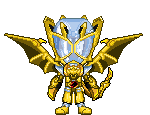 Kamen Rider Wizard Infinity Dragon Gold by Thunder025