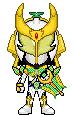 Kamen Rider Zangetsu Melon Arms by Thunder025