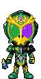 Kamen Rider Ryugen W Arms by Thunder025
