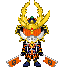 Kamen Rider Gaim Kachidoki Arms by Thunder025