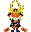 Kamen Rider Gaim Kachidoki Arms by Thunder025