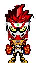 Kamen Rider Para-DX Fighter Gamer LVL 50 by Thunder025