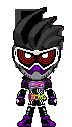 Kamen Rider Genm Action Gamer LVL 0 by Thunder025