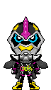 Kamen Rider Lazer Turbo Combat Bike Gamer LVL 0 by Thunder025