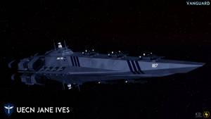 UECN Jane Ives Class Battleship