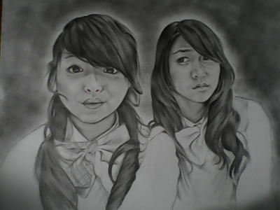 Jeje and Ve JKT48 by georgius23