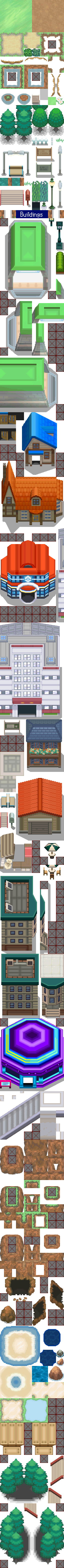 BW Spring Tileset version 2 (WIP)