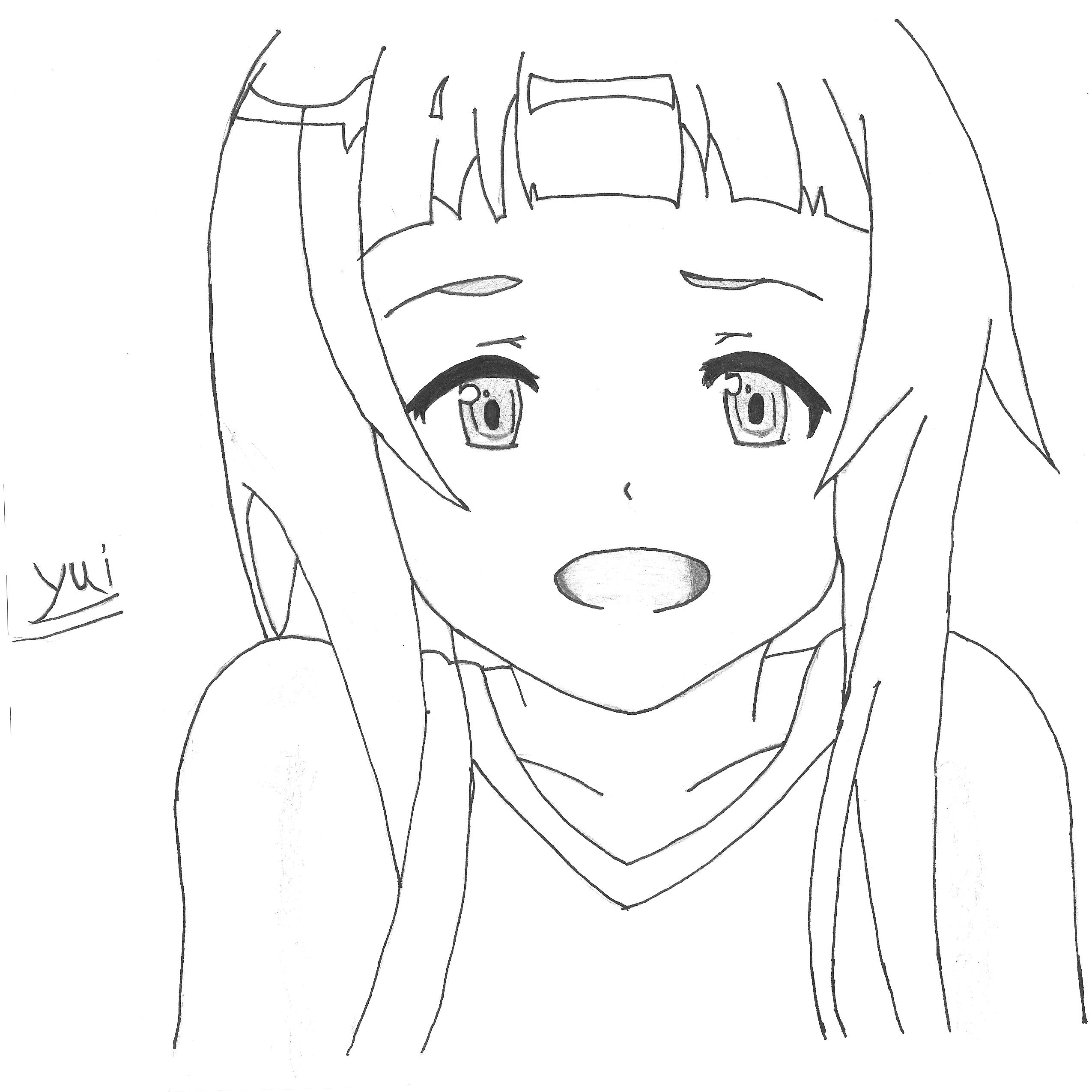 Yui Sword Art line by Kirito23 on DeviantArt