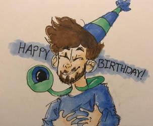 Birthday boooy by DoodlyDoodlerDoo