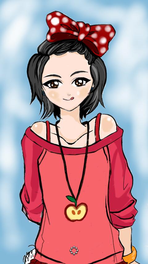 Cute Girl by pinky-julie-winky