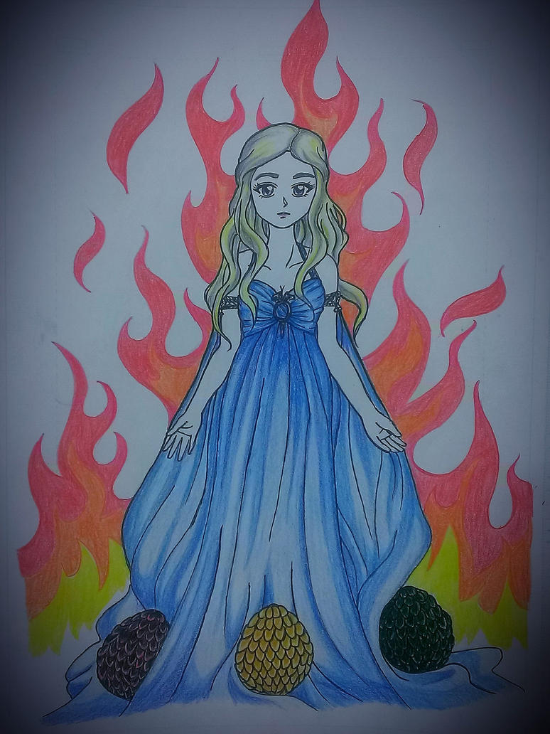 Daenerys Targaryen from Game of Thrones by pinky-julie-winky