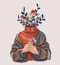 Plant head by KiffArt