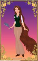 Rapunzel as Flynn by A1r2i3e4l5