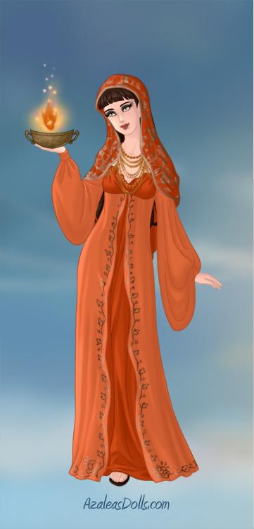 Goddess Hestia by A1r2i3e4l5 on DeviantArt