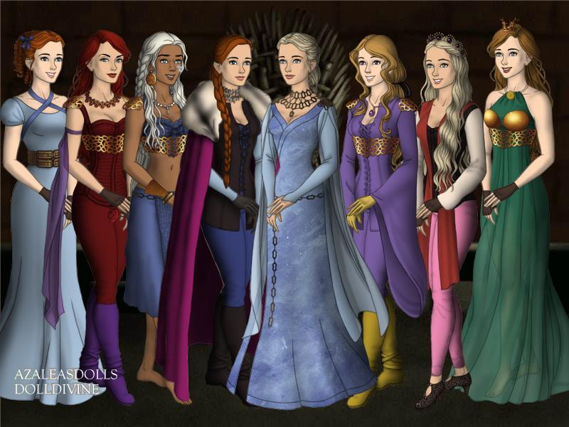 Warrior Princesses Part 4 by A1r2i3e4l5