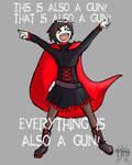 RWBY - It's also a Gun.