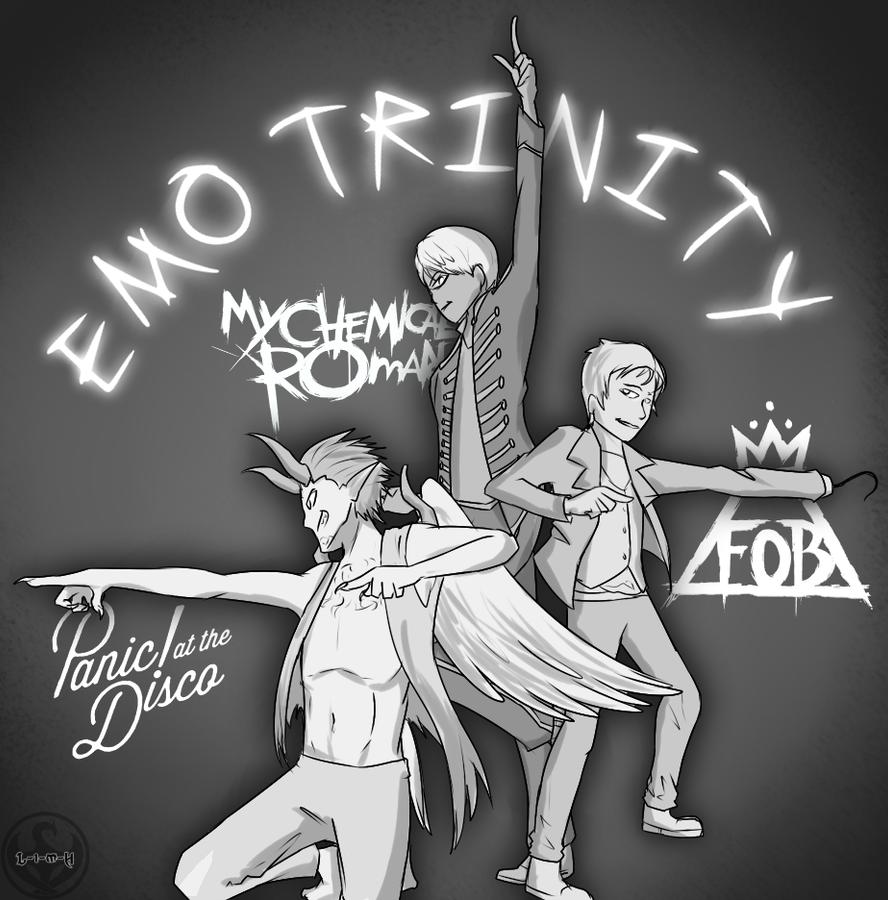 D Emo N Trinity By Lightning In My Hand On Deviantart