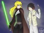 RWBY - Yang Skywalker + Ruby Organa