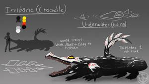 LUNAverse Fanon - Grimm Crocodile by Lightning-in-my-Hand