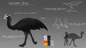 [Crack] LUNAverse Fanon - Grimm Emu by Lightning-in-my-Hand