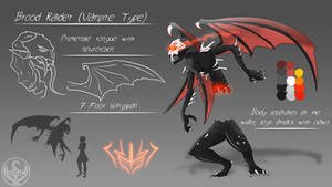LUNAverse Fanon - Grimm Manananggal by Lightning-in-my-Hand
