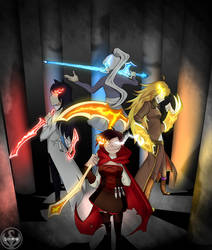 RWBY - Maidens by Lightning-in-my-Hand
