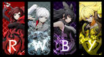 RWBY - BlazBlue Cross Tag Battle CG Poster