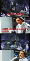 Batman vs Bateman clash