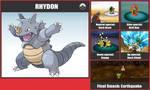 Rhydon SSB Moveset