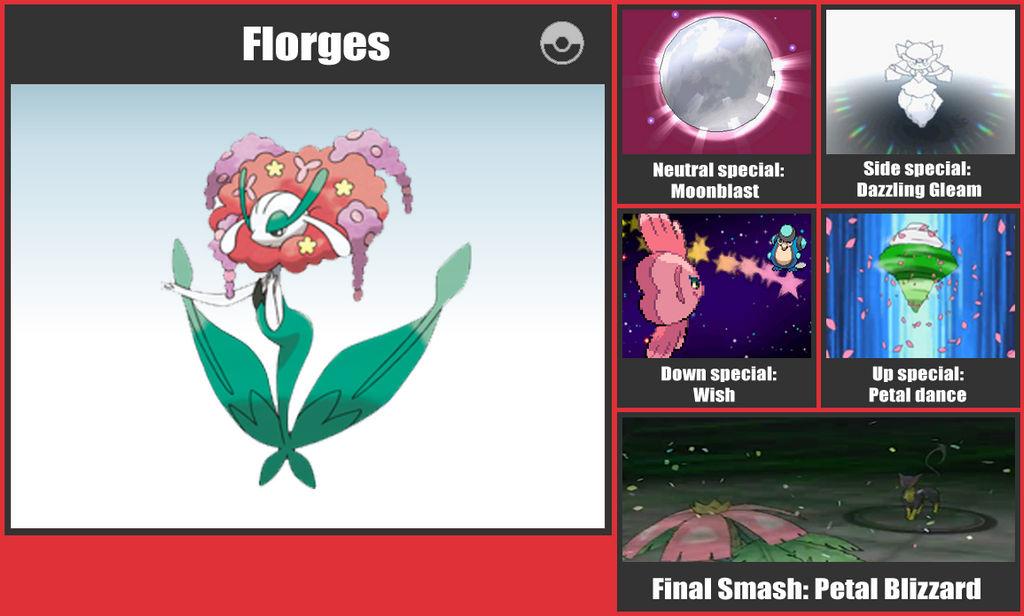 Florges SSB Moveset by danilo11