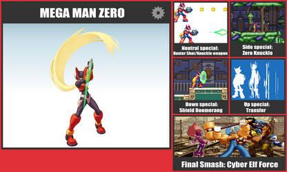 Mega Man Zero SSB Moveset
