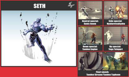 Seth SSB Moveset