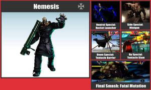 Nemesis SSB Moveset by danilo11
