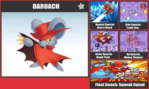 Daroach SSB Moveset by danilo11