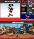 Mickey SSB Moveset by danilo11