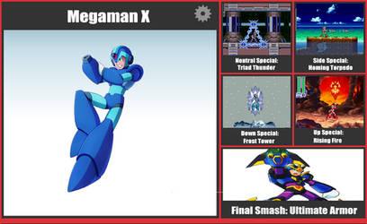 Mega Man X SSB Moveset by danilo11