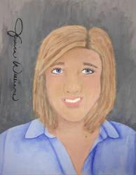 mrs. williams teacher portrait  by itslalalalauryn