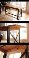 Industrial Table DIY
