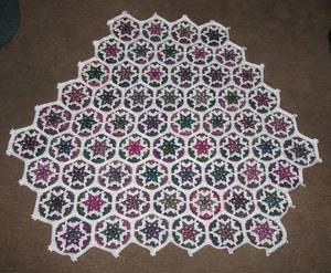 Hexagon throw