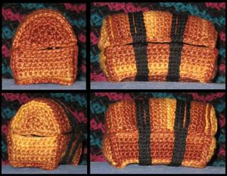 Crocheted Treasure Chest