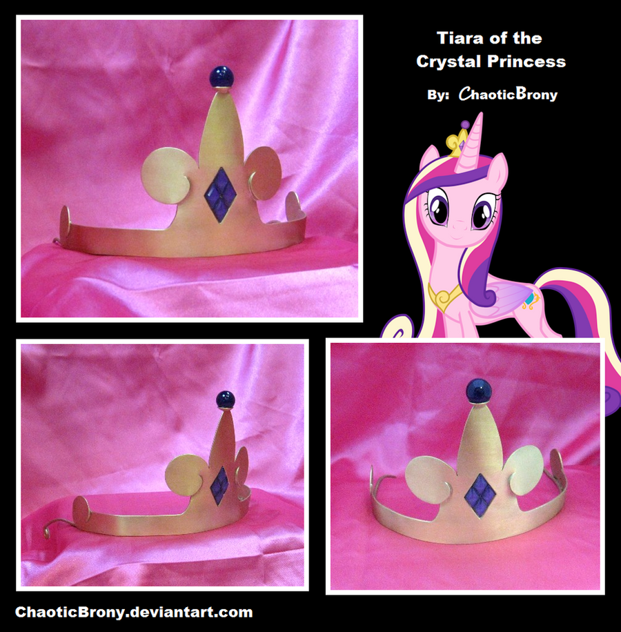 Tiara of the Crystal Princess by SilverSlinger