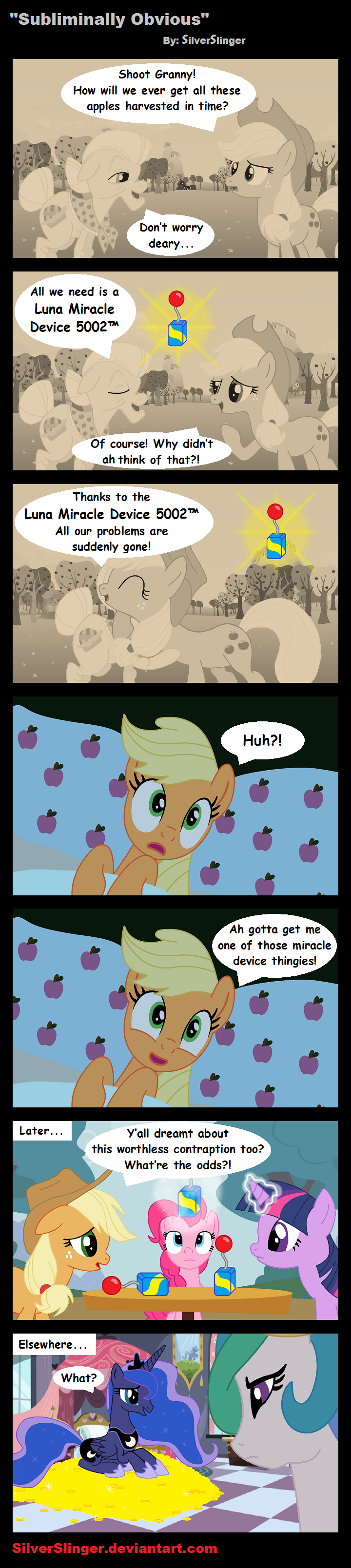 Subliminally Obvious by SilverSlinger
