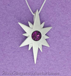 Silver Mark of Twilight Sparkle by SilverSlinger