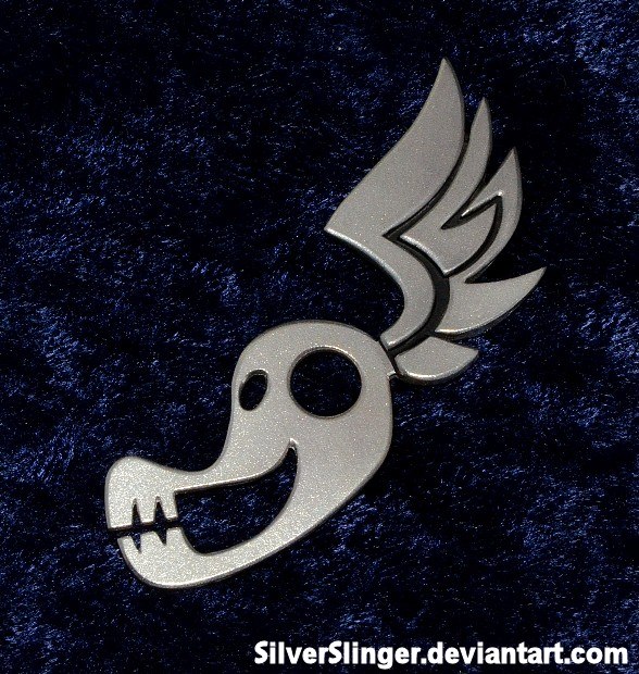 ShadowBolt Pin by SilverSlinger