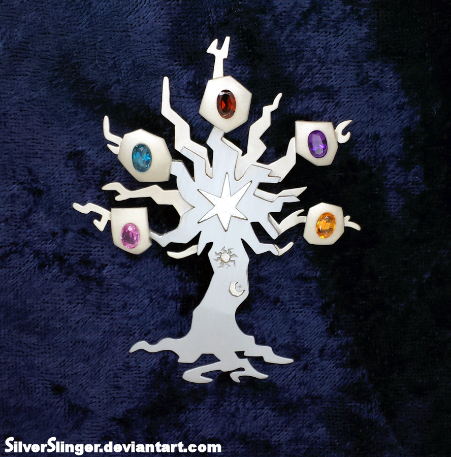 The Tree of Harmony Pin by SilverSlinger