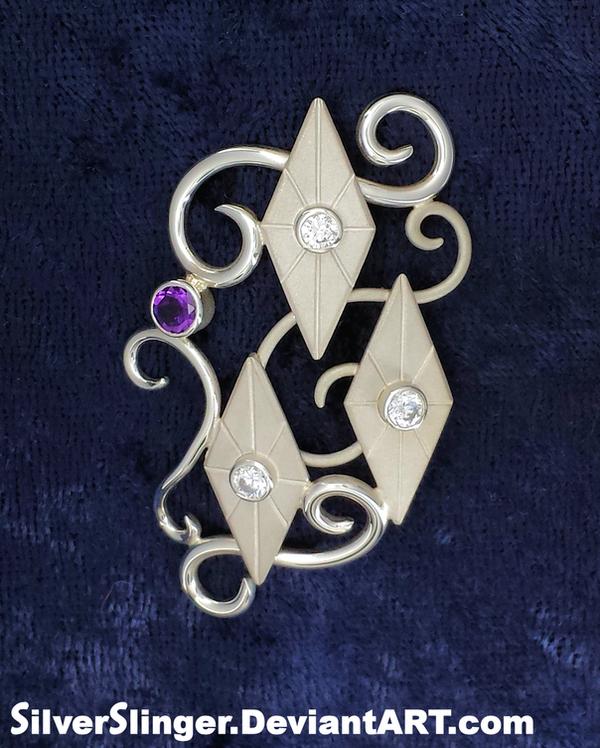Rarity's Brooch by SilverSlinger