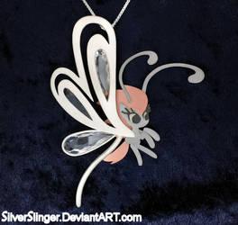 Breezy Pendant by SilverSlinger