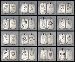 Pony Dog Tags (Series 2) by SilverSlinger