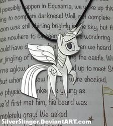 Book Horse Pendant