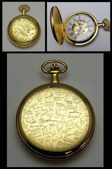 Brony Fandom Tribute Pocket Watch